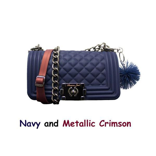 Navy Danielle Boy Bag