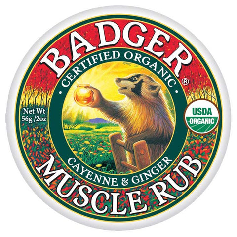 Badger Sore Muscle Rub Cayenne & Ginger