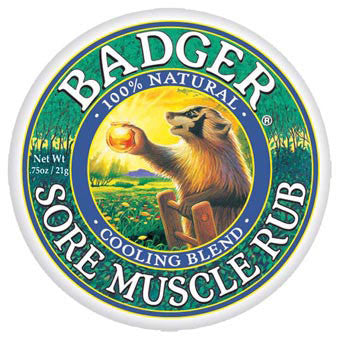 Badger Sore Muscle Rub Cooling Blend