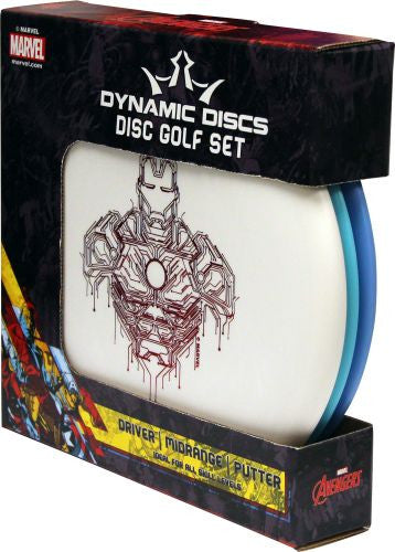 Dynamic Discs Marvel Prime Starter Set