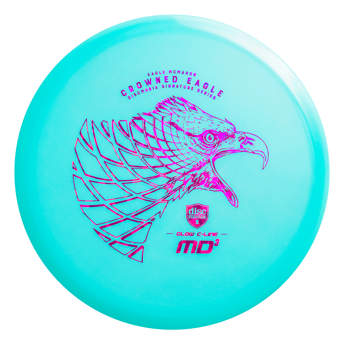McMahon Color Glow C-Line MD3 - Crowned Eagle