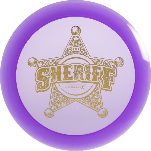 Lucid-X Sheriff Badge Stamp