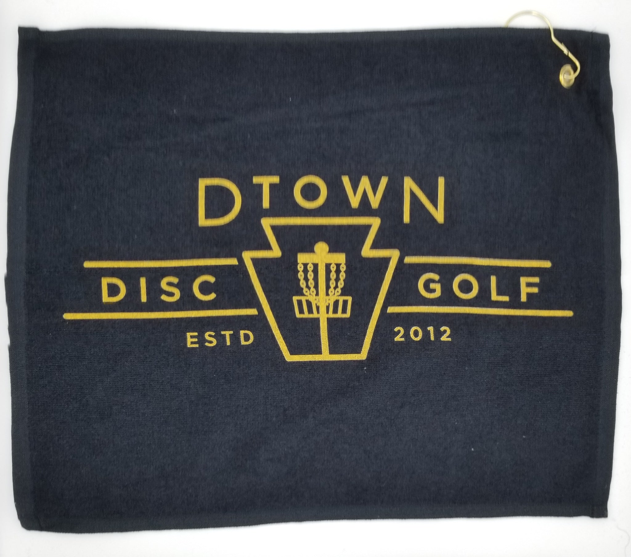 D-town Disc Golf Towel