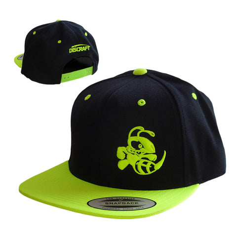 Buzzz Snapback Flat Bill Two Tone