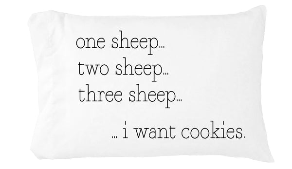 Counting Sheep Toddler Pillowcase