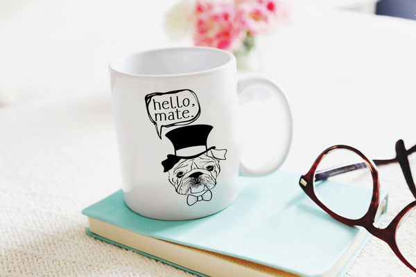 Hello Mate Mug - 11oz Coffee Mug