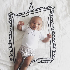 Picture Frame Swaddle Blanket