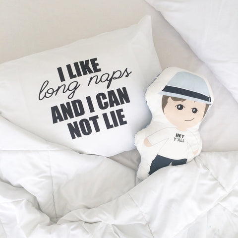 I Like Long Naps and I Can Not Lie Standard Pillowcase