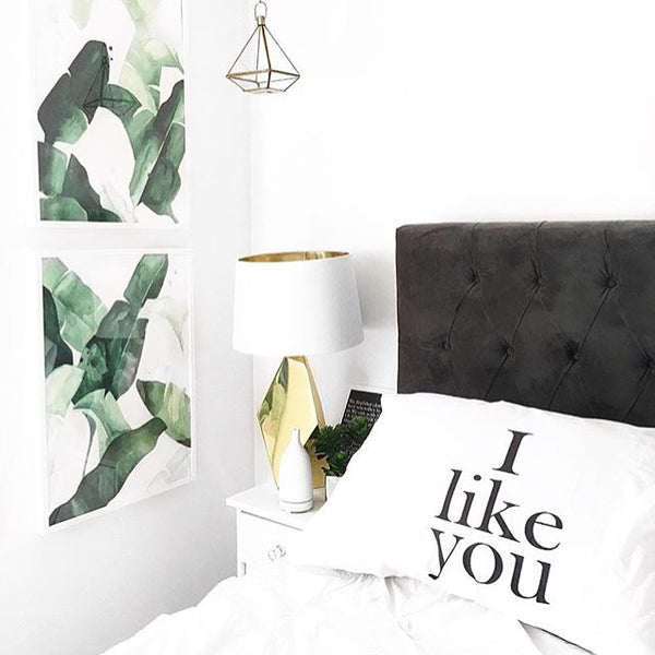 I Like You and Naps Couples Pillowcases