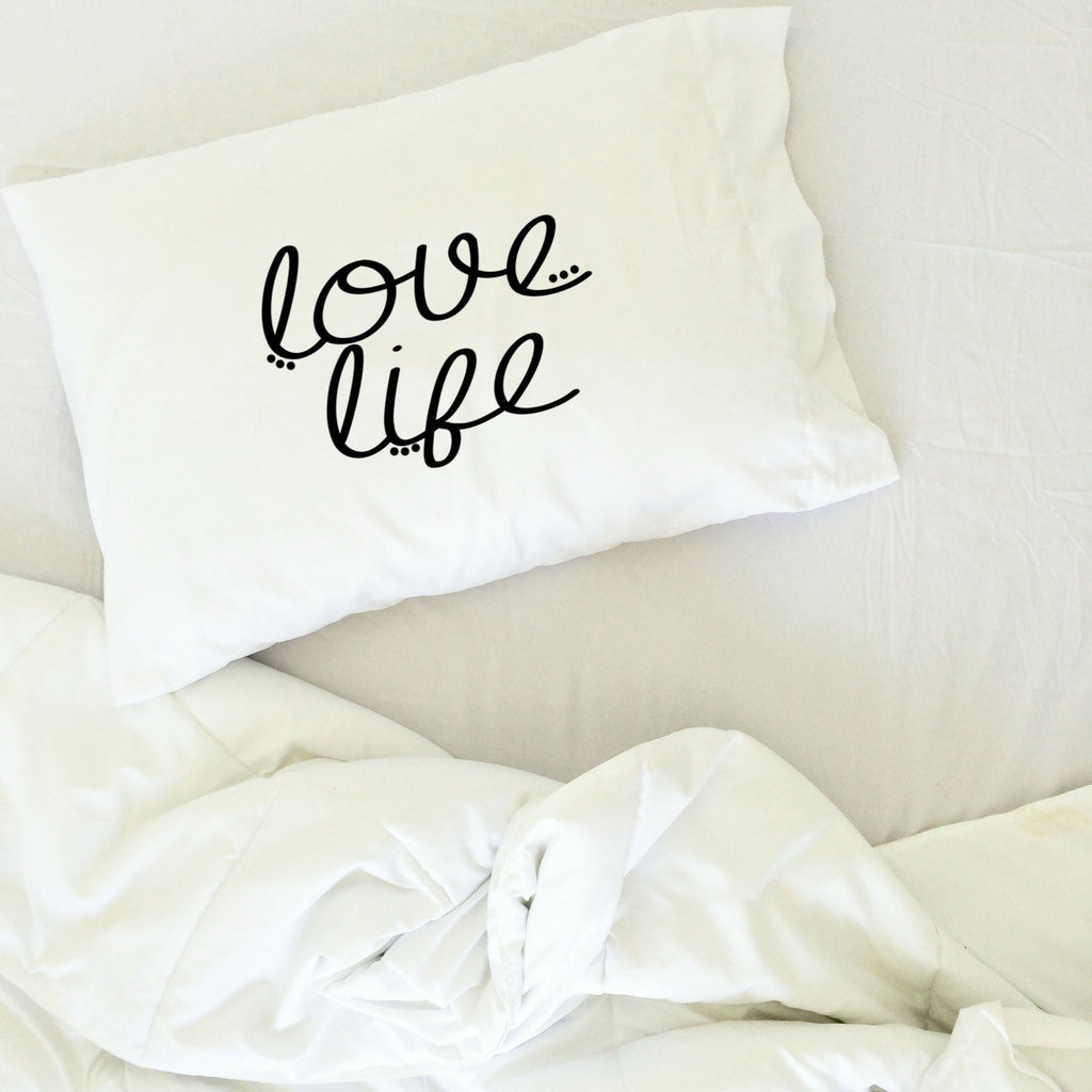 love life pillow case graduation gifts for her or him dorm room