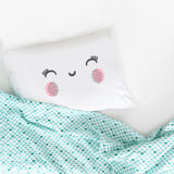 "Pink Cheeks Smiley Face 20"" x 30"" Standard Pillowcase"