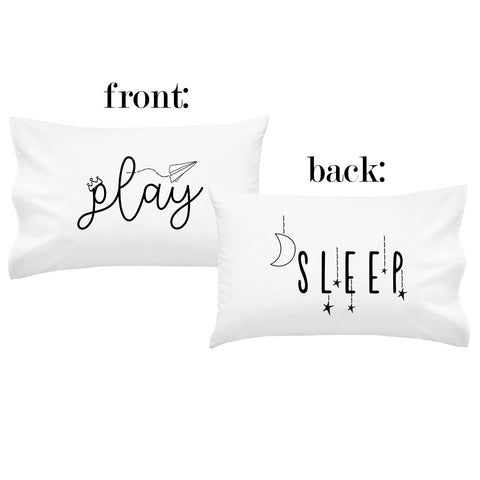 Play Sleep Double-Sided Kids Pillowcase - (1 20x30 Inch Pillowcase)