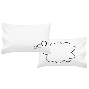 Thought Bubble Couples Pillowcases