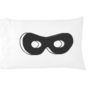 Superhero Mask Standard Pillowcase