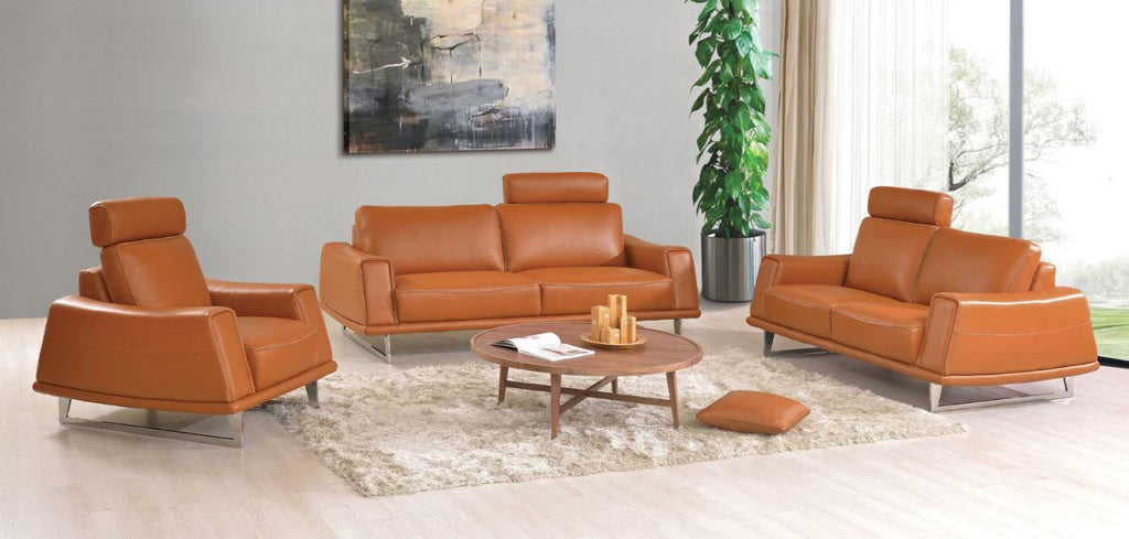 531 Three piece sofa set by ESF