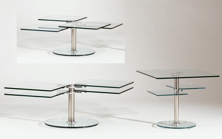 8130-CL Lamp Table by Chintaly Imports