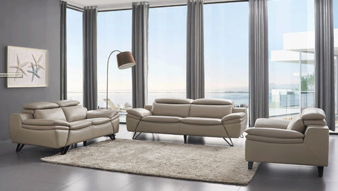 973 Three piece sofa set by ESF