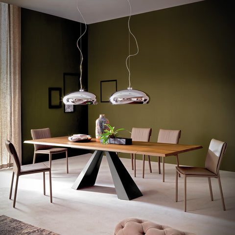 ELIOT WOOD DRIVE Dining Table by Cattelan Italia
