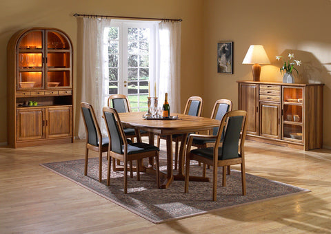 Dining Room Set 12 by Dyrlund