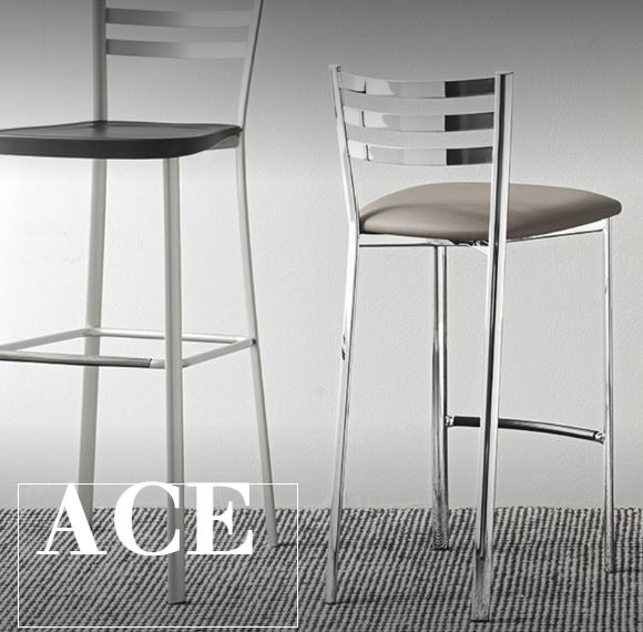 Ace Stool by Connubia Calligaris CB/1433