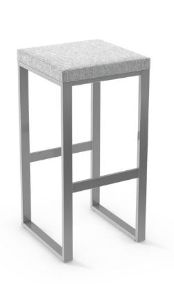 Aaaron stool by Amisco
