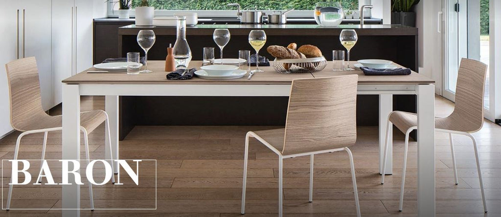 Baron Table by Connubia Calligaris, CB4010