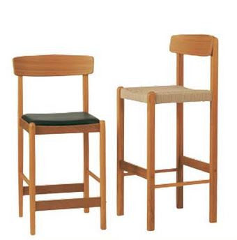 Solid Teak Bar Stool BL 24 by Sun Cabinet