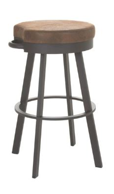 Bryce swivel stool by Amisco