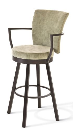 Cardin swivel stool by Amisco