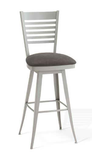 Edwin swivel stool by Amisco
