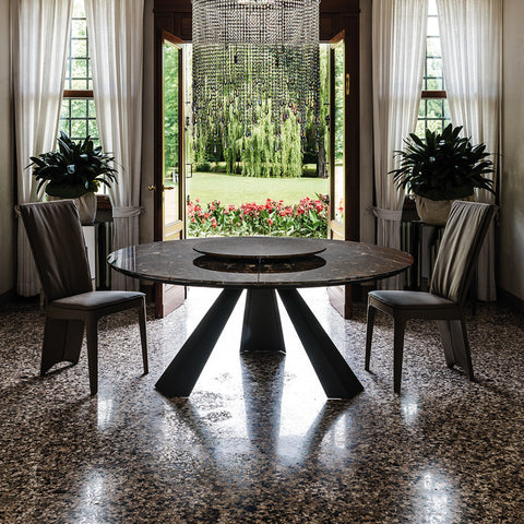 ELIOT ROUND Dining Table by Cattelan Italia