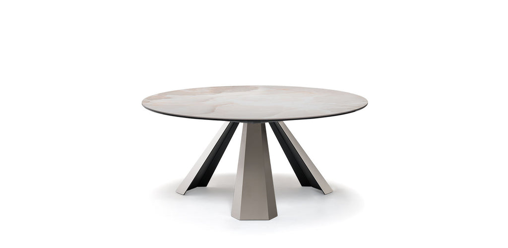 ELIOT KERAMIK ROUND Dining Table by Cattelan Italia
