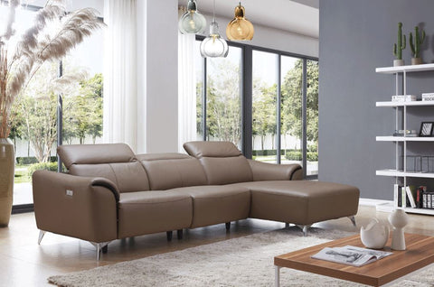 950 Leather Sectional by ESF