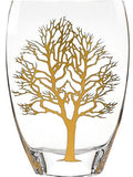 Gold Tree of Life Vase 12 inch