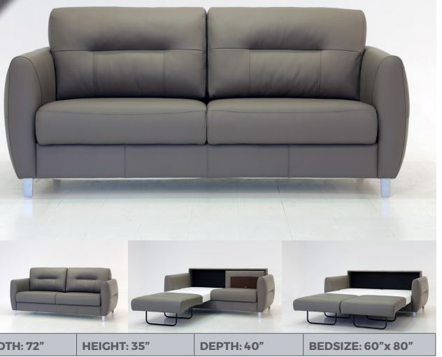 Jamie Sofa Sleeper by Luonto Furniture