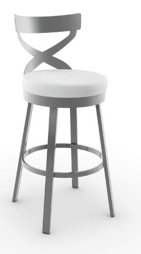 Lincoln Swivel Stool By Amisco
