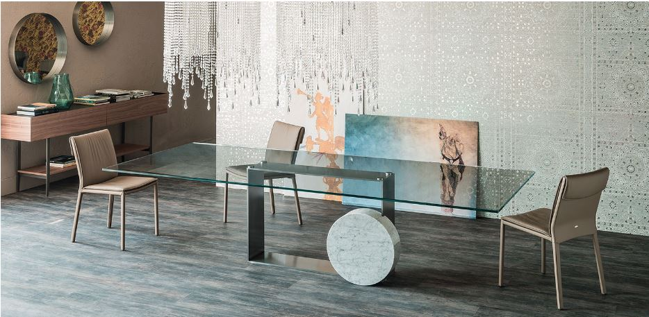 Museum  Dining Table by Cattelan Italia