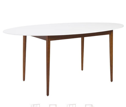 Manon Oval Dining Table  by Eurostyle