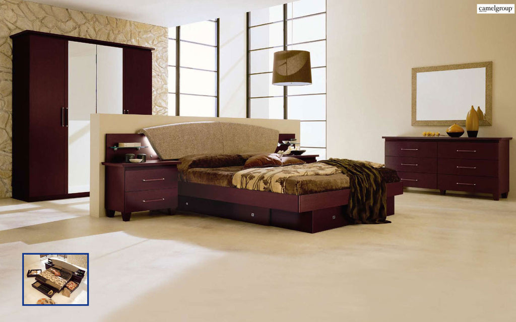 Miss Italia Night (3) Bedroom Set by Esf