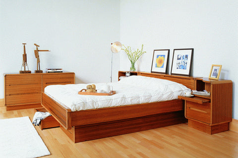 Scandinavian Bedroom by Sun Cabinet 81. Teak Furniture   MC Furniture