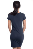 Womens Turtle T-shirt Dress