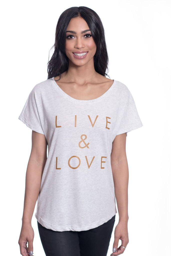 Live & Love Billboard Dolman