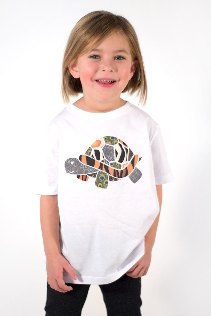 Girl Zoo Turtle Tee