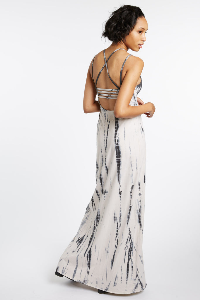 Donatello Tie-Dye Maxi Dress by Chaser