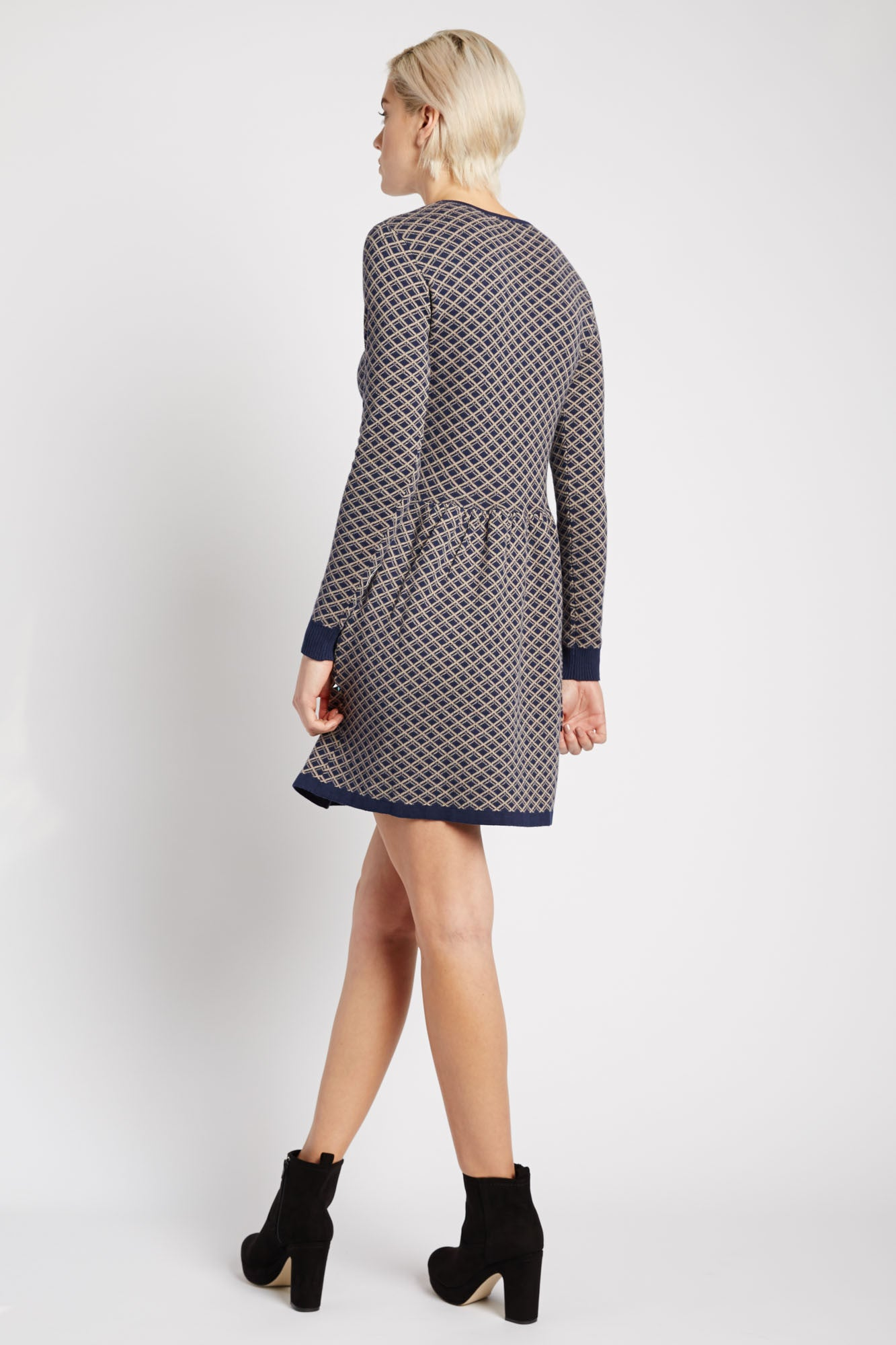 Damayanti Knit Sweater Dress by Kling