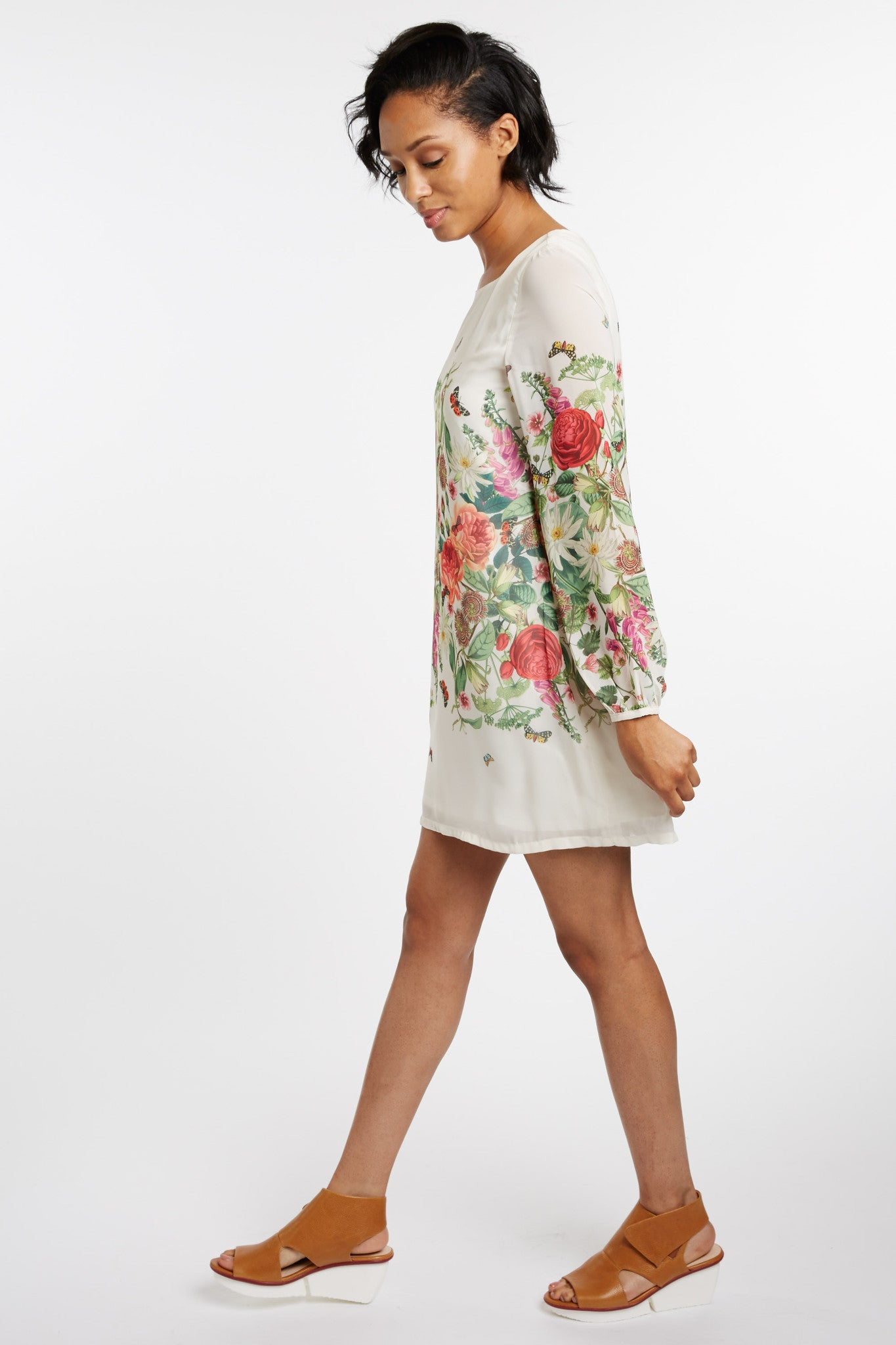 Vicente Spring Floral Dress by Yumi