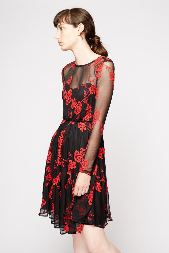 Coconinno by Eva Franco Tracey Dress in Spanish Rose