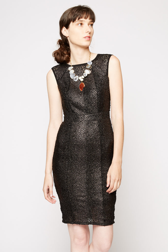 Rubber Ducky Snake Print Dress
