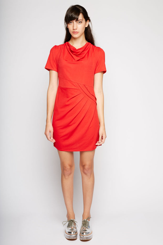Aries Ruched Cocktail Dress by Kling