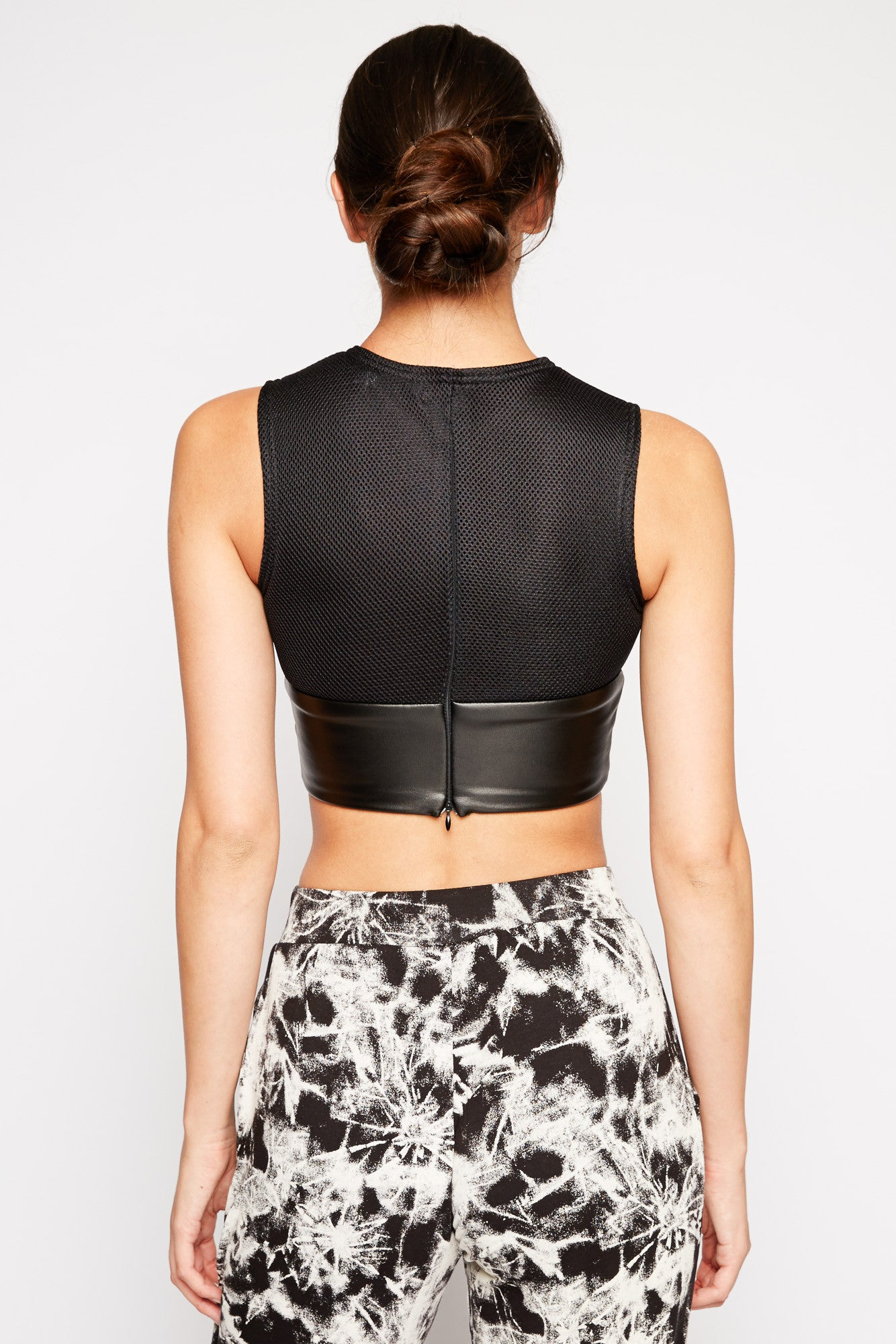 Bubble and Squeak Crop Top by ASILIO